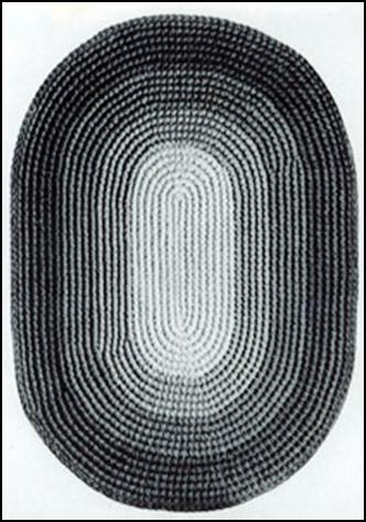 Crochet An Oval Rug The Woodsys Bulletin Board